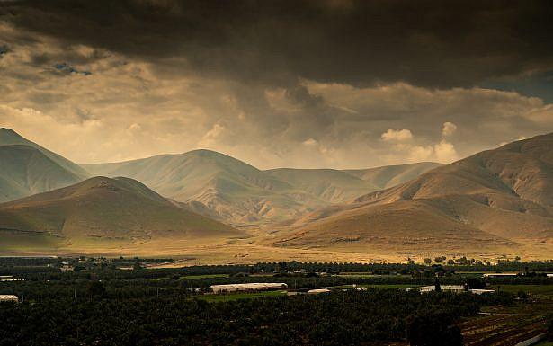 Landscape views of the Jordan Valley. February 02, 2020. Photo by Yaniv Nadav/FLASH90